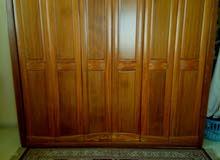 غرفة نوم خشب ممتاز مع كراسي مصريه