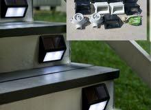 أضواء مميزه و راقيه للدرج أو للحائط تصلح للحدائق والإناره الخارجيه.