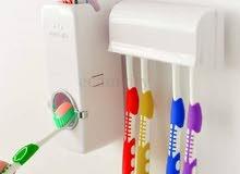 ماكينة معجون وحاملة فرش أسنان 1x2
