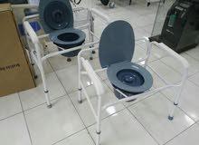 كرسي مقعدة حمام متنقلة جديد جديد!!