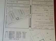للبيع أرض  تجارية  (العوينات مربع 1) غرب الشارع العام ولاية صحار ..
