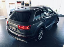 Audi Q7 car for sale 2018 in Amman city