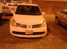 White Nissan Tiida 2006 for sale