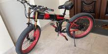 بيع دراجه هوائيه + كهربائيه