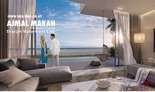 شقة للبيع في اجمل مكان ثالث اكبر مشروع في الخليج العربي