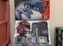 ORIGINAL N64 CONSOLE WITH ORIGINAL GAMES PAL , SERIOUS PEOPLE ONLY