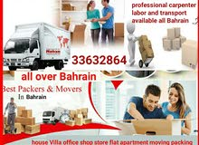 ( Services all over Bahrain ) professional movers and Packers.