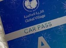 استيكر مواقف  الكود A القرية العالمية GV (Global village
