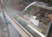 فريزر بوظة ايطالي للبيع او للبدل على ثلاجة عرض للحوم