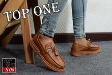 حذاء بنص رجالي كلاسيك وشيك جداا