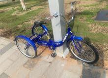 دراجة 3 كفرات ( عجلات )