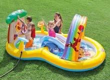 مسبح الحدائق للاطفال كبير الحجم   Caractéristiques de l'aire de jeux Winnie de P
