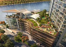 the dream waterfront apartment in the heart of Dubai.شقق القناة المائية