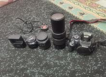 Canon 550D   DSLR Camra with 3 lens