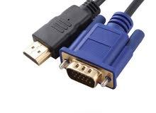 وصلة HDMI الى VGA.