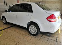 White Nissan Tiida 2012 for sale