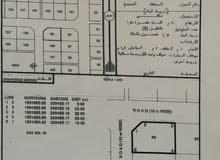 ارض للبيع في صحلنوت مربع د ركنيه على شارعين