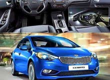 Renting Kia cars, Cerato 2018 for rent in Amman city