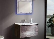 مغسلة مع خزانة /مغاسل /خزانة مغسلة  /طقم حمام/ادوات صحية