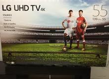 شاشة LG 55 6300  SMART 4K UHD والله يبارك لصاحب النصيب