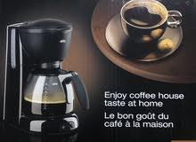 جهاز صانع قهوه براون جديد بالكرتون