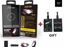 power bank ASPOR 8000 wireless