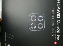 جهاز هواوي ميت 20برو جديد بالكرتونة بعده بختم الشركة