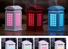 London telephone booth humidifier