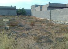 قطعة ارض للبيع مساحتها 530 متر مربع  في حي سكني بمنطقة اسبيعة بعد قصربن غشير