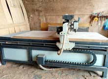 ماكينه CNC للحفر والنحت عالخشب بفنيات فائقة ومزوده بخاصيه ال 3D