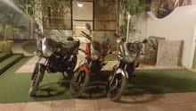 للبيع دراجه ناريه هوندا 150 سي سي موديل 2013