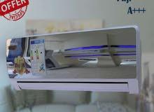 بالتقسيط مكيفات فل انفيرتر فوجي ياباني التقنية