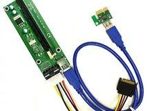 PCIe Riser - Mining - تعدين - Bitcoin - GPU