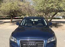 Blue Audi Q5 2009 for sale