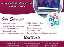 Create your own website and mobile application