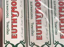 معجون الأسنان Euthymol
