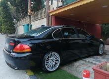 Bmw 745il سيارة ملوكية إضافات خاصة نظيفة جدا 2004