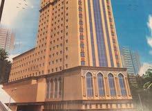ارض بمكان مميز بمكة المكرمة بترخيص فندق 20 دور