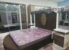 غرفة نوم للبيع مصارلهة 5ايام من شديتهة ممستعلمة نهائيا بس توازيت السعر 15ورقة
