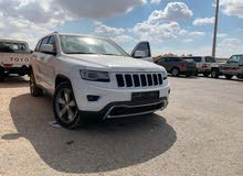 White Jeep Grand Cherokee 2014 for sale