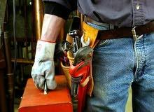 مواسرجي وكهربجي متنقل   ل اعمال الصيانه والتمديدات