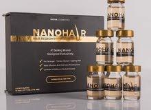 نانو هير نانوهير السيروم والشامبو هيرتوكس لنمو وتحسين الشعر المنتج تركي اصلي