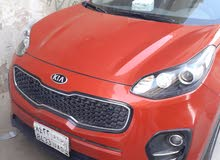 Kia Sportage 2017 For sale - Red color