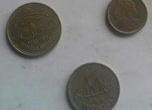 مجموعة عملات نادرة ( غربية - عربية - سودانية )
