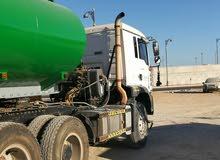 تنكر ماء 10000ألف جالون مع رأس مان 2008 للبيع او للإيجار