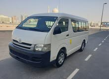 Toyota Hiace 2009 (Mid-Roof),Fully Agency Maintained from Futtaim, 15 seater, Al