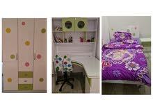 غرفة نوم مفردة للبيع