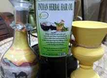 INDIAN HERBAL HAIR OIL FOR SALE  100 % ORGANIC