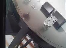 طاولة سفرة مع 6 كراسي
