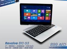 HP Revolve 810 G3 - i7- 5th Generation [TOUCHSCREEN]